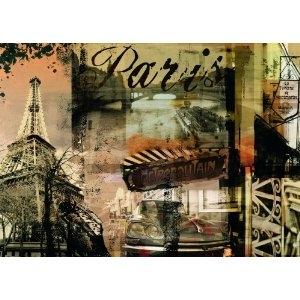 Ravensburger:15729  Настальгический Париж 1000