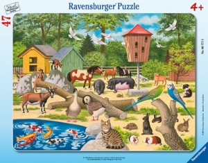 Ravensburger:06777 Домашние животные  30х48