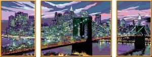Ravensburger:28951 Небоскребы Нью Йорка 100х40 (триптих)