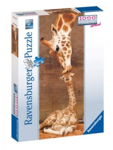 Ravensburger:15115  Семья жирафов 1000 (панорама)