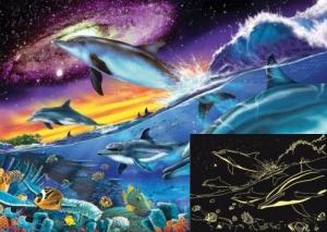 Ravensburger:16064 Великолепные дельфины  Зв.лин. 1000