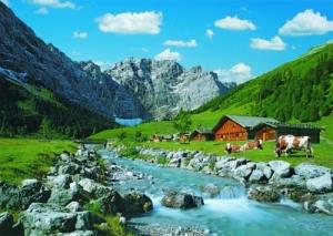Ravensburger:19216 Австрийские горы  1000