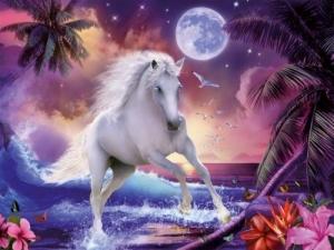 Ravensburger:16389 Лошадь в волнах 1500  дет.