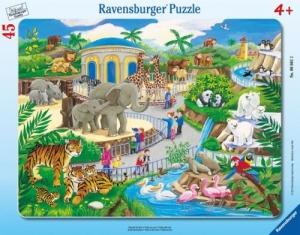 Ravensburger:06661 В зоопарке 30-48