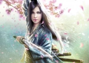 Ravensburger:19036 Женщина самурай  1000