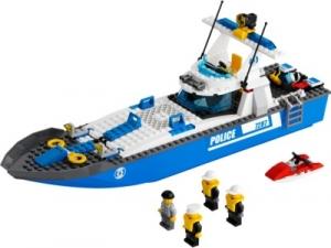LEGO:7287 Город Полицейский катер
