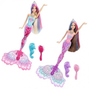 Barbie:X9177 Барби Русалочка меняющая цвет в ассорт.
