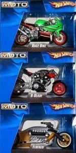 Hot Wheels:47118  1:18 Мотоциклы в ассорт.