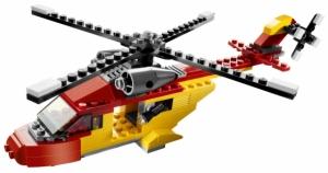 LEGO:5866 Криэйтор Вертолет -спасатель