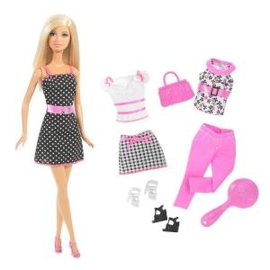Barbie:N8820 Барби кукла с одеждой в ассорт.