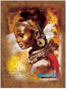 Ravensburger:15352  Африканская красавица 1000