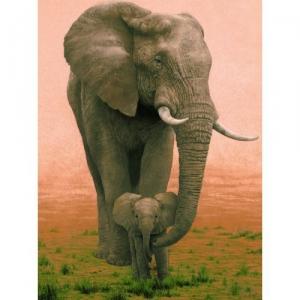 Ravensburger:16396 Слоны 1500  дет.