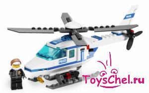 LEGO:7741 Город Полицейский вертолет