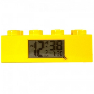LEGO:9002144 Будильник Лего Желтый кирпичик