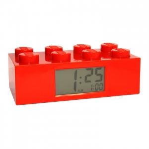 LEGO:9002168 Будильник Лего Красный кирпичик