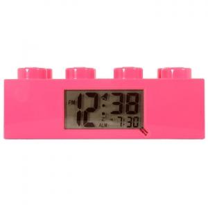 LEGO:9002175 Будильник Лего розовый кирпичик