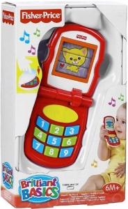 Fisher-Price:K9861 Блестящие основы - Дружилюбный телефон