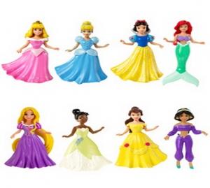 Barbie:P2077 Мини- кукла Принцесса Диснея в ассорт.