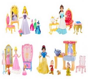 Barbie:R4888 Набор с мини- куклой Принцесса Диснея в асс