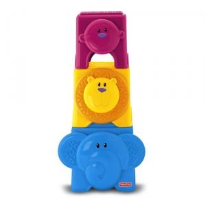 Fisher-Price:W3114 Кубики с животными