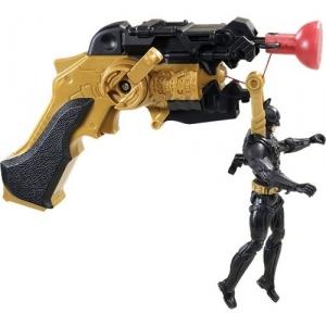 Batman:X5806 Пистолет на присоске с фигуркой  Бетмана