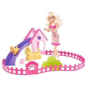 Barbie:X6559 Барби тренирует щенков