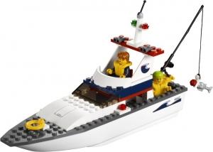 LEGO:4642 Город Рыболовное судно