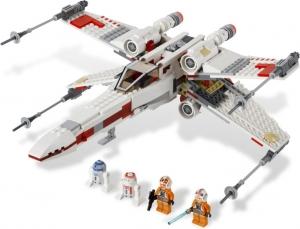 LEGO:9493 Звездные войны Истребитель X-wing