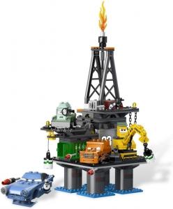 LEGO:9486 Тачки 2 Операция Нефтяная вышка