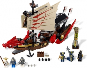 LEGO:9446 Ниндзяго Летучий корабль