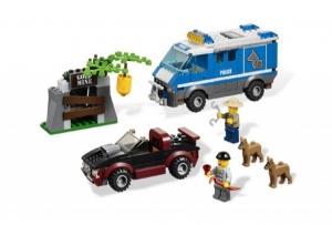 LEGO:4441 Город Фургон для полицейских собак