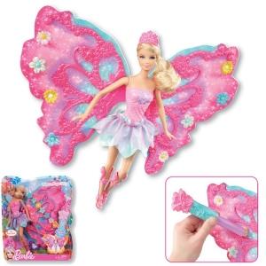 Barbie:W2969 Барби Фея - Волшебный полет в ассорт.