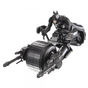 Batman:W7219 Бетмобиль с фиг. с аксесс. стрел. ракетами
