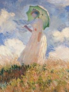 Ravensburger:15465 Моне: Женщина под зонтом 1000