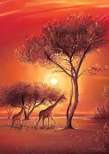 Ravensburger:15694 Африка 1000